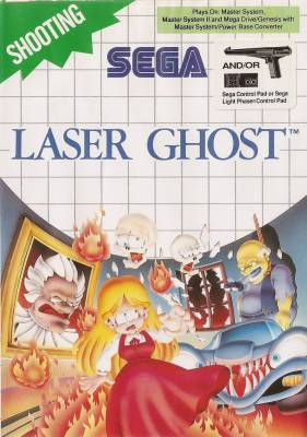Laser Ghost -  EU -  Sticker