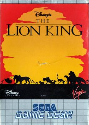 Lion King -  EU -  Front