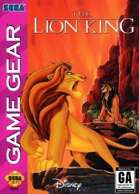 Lion King -  US -  Front