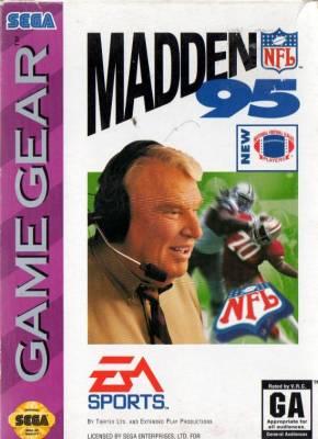 Madden NFL 95 -  US -  Front