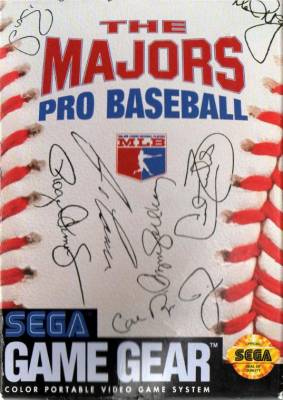 Majors Pro Baseball -  US -  Front