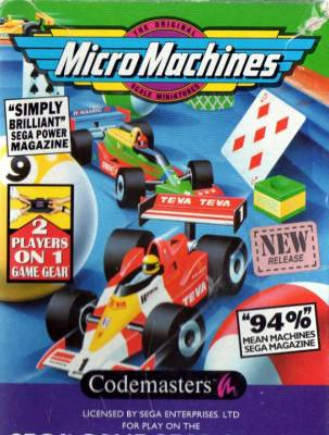 Micro Machines -  EU -  Front