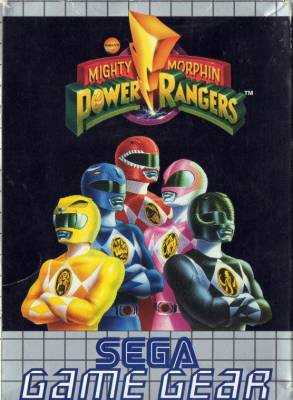Mighty Morphin Power Rangers -  EU -  Front