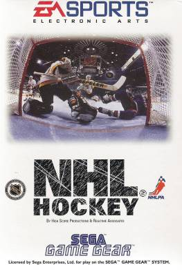 NHL Hockey -  EU -  Front