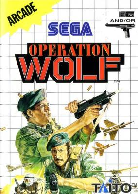Operation Wolf -  EU -  No R - 8 Langs