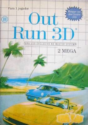 Out Run 3D -  BR -  Front