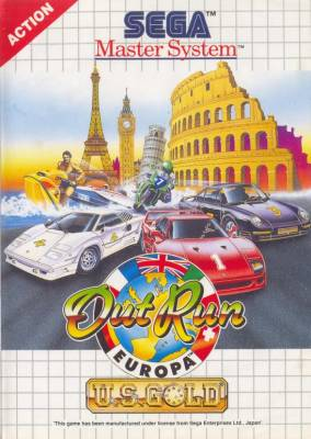 Out Run Europa -  EU -  B