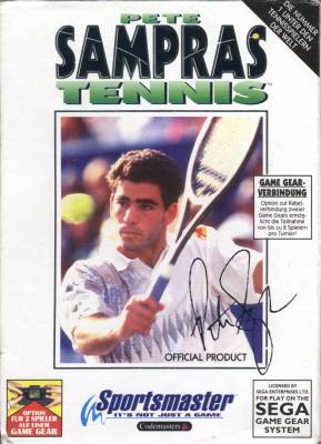 Pete Sampras Tennis -  DE -  Front