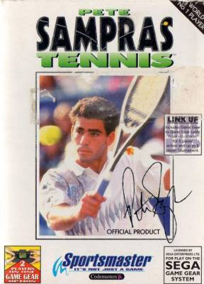 Pete Sampras Tennis -  EU -  Front