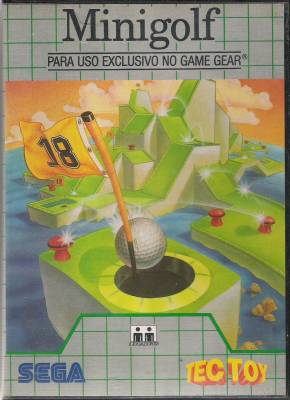 Putt and Putter -  BR -  Minigolf -  Front