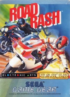 Road Rash -  EU -  Front