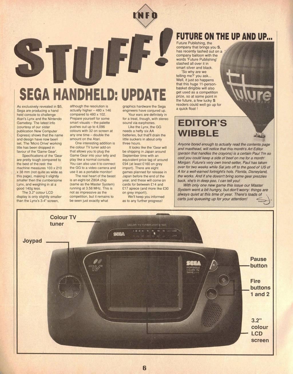 S the Sega Magazine - Issue 08 - United Kingdom Magazine - Scans