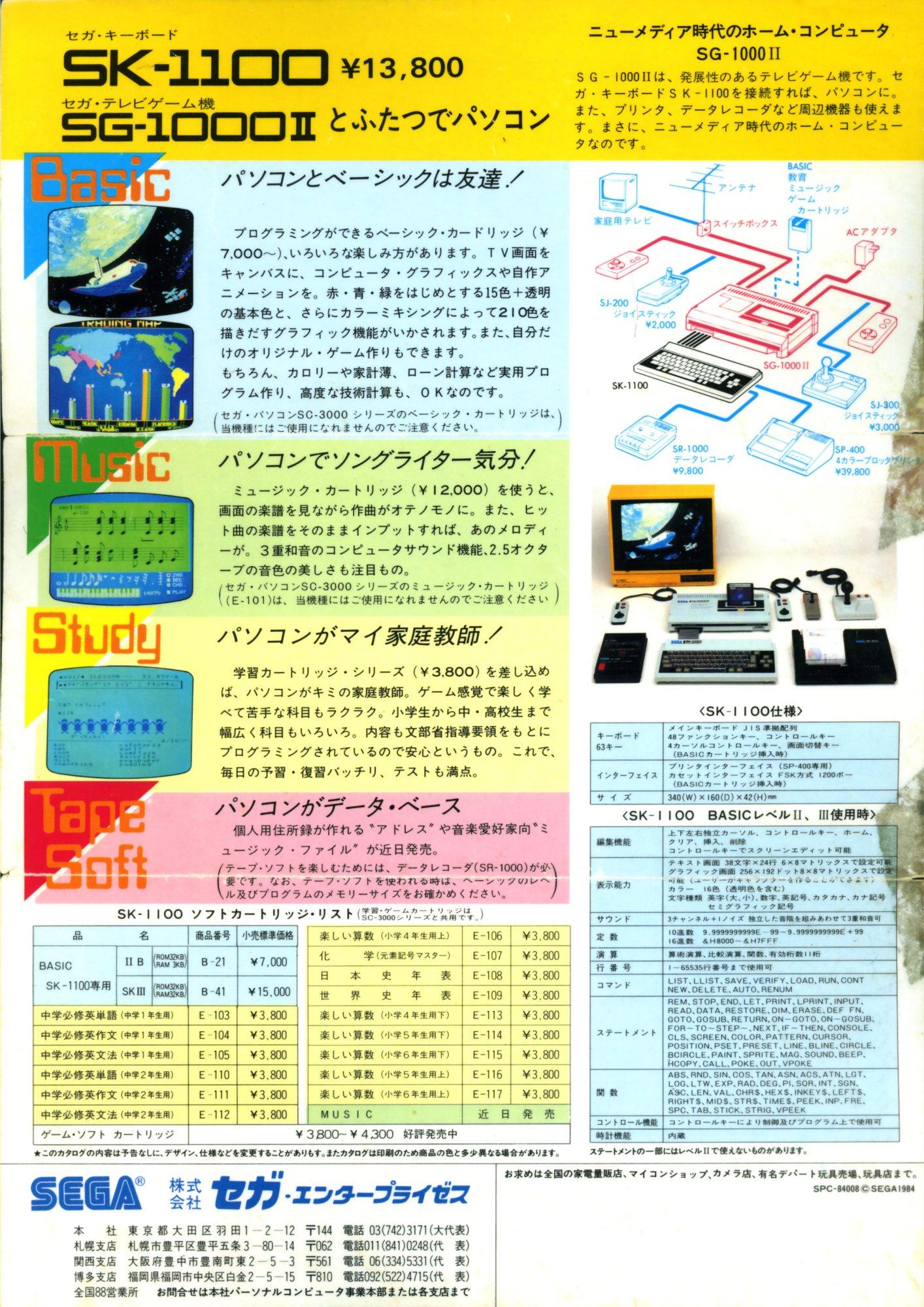 La plus belle pub pour un micro 8bit ? - Page 6 Sega-Advertisement-SG1000IISK1100-JP-4