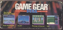 Sega Game Gear -  Box Left