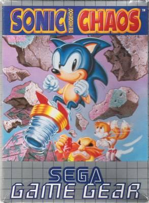 Sonic Chaos -  EU -  Front