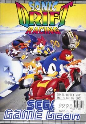 Sonic Drift 2 -  Sonic Drift Racing -  EU -  Front
