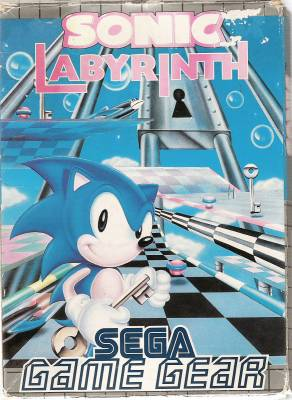 Sonic Labyrinth -  EU -  Front