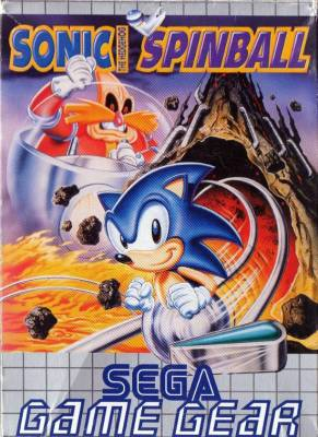 Sonic Spinball -  EU -  Front