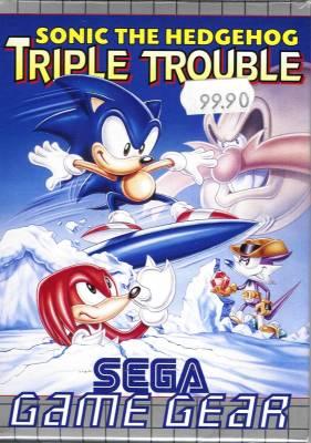Sonic Triple Trouble -  EU -  Front