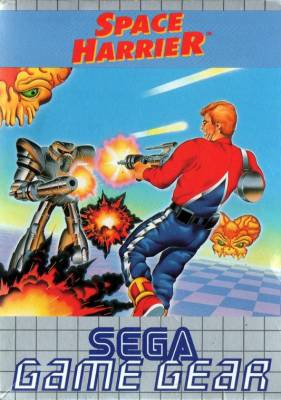 Space Harrier -  EU -  Front