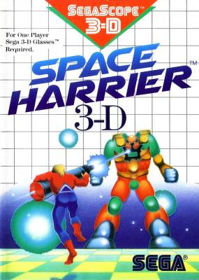 Space Harrier 3D -  EU -  R