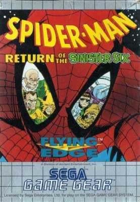 Spider Man Return of the Sinister Six -  EU -  Front