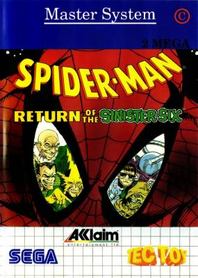 Spider Man Return of the Sinister Six -  BR