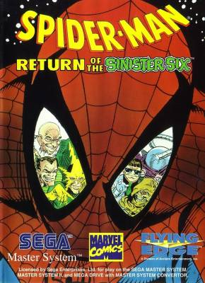 Spider Man Return of the Sinister Six -  EU