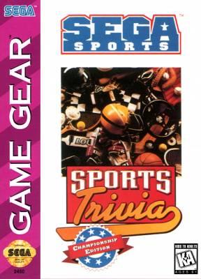 Sports Trivia Championship Edition -  US -  Front