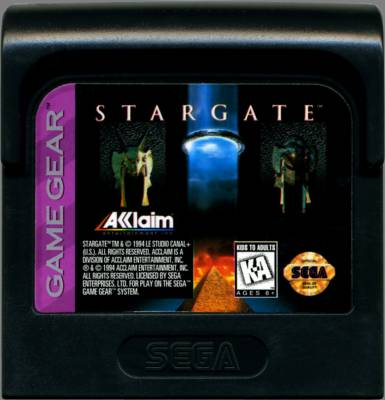 Stargate -  US -  Cartridge