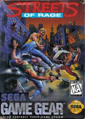Streets of Rage -  US -  Front
