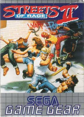 Streets of Rage II -  EU -  Front