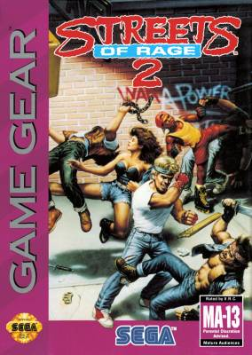 Streets of Rage II -  US -  Front