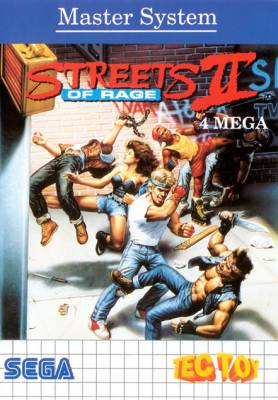 Streets of Rage II -  BR