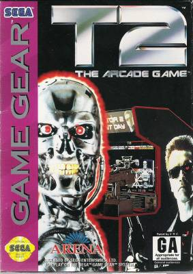 T 2 The Arcade Game -  US -  Front