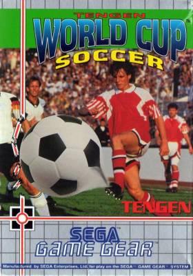 Tengen World Cup Soccer -  EU -  Front