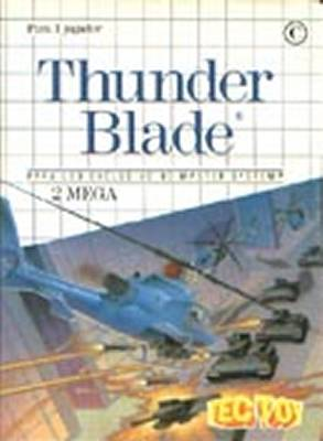 Thunder Blade -  BR -  Front