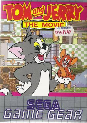 Tom and Jerry the Movie -  EU -  Front