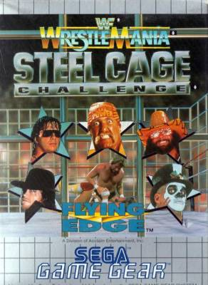 WWF Wrestle Mania Steel Cage Challenge -  EU -  Front