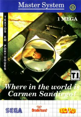 Where in the World Is Carmen Sandiego -  BR