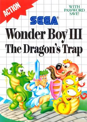 Wonder Boy III -  EU - 6 Langs -  R
