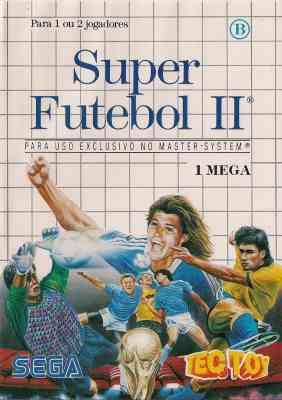 World Cup Italia 90 -  BR -  Super Futebol II -  Sega Logo