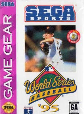 World Series Baseball 95 -  US -  Front