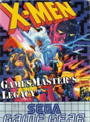 X Men Games Masters Legacy -  EU -  Front
