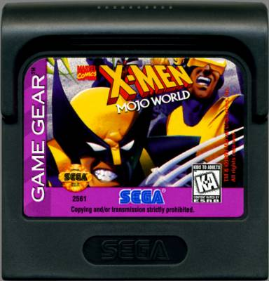X Men Mojo World -  US -  Cartridge